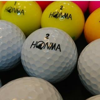 ホンマゴルフ(本間ゴルフ)のホンマ D1 24球② ロストボール ゴルフボール(その他)