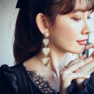 スナイデル(snidel)のHer lip to♡正規品Heart Clip Earrings(イヤリング)