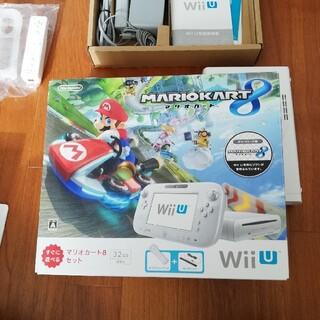 ニンテンドウ(任天堂)の任天堂 WiIU すぐに遊べるマリオカート8セット(家庭用ゲーム機本体)