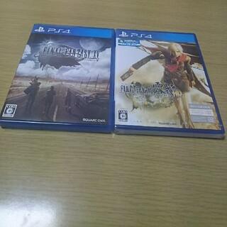 プレイステーション4(PlayStation4)のPS4ソフト2本セット(家庭用ゲームソフト)