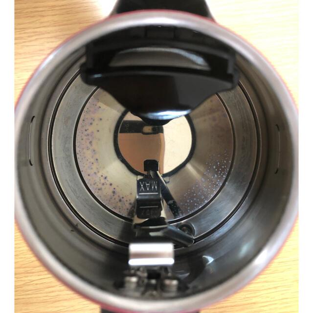 DeLonghi(デロンギ)の電子ケトル(デロンギ 赤) スマホ/家電/カメラの生活家電(電気ケトル)の商品写真