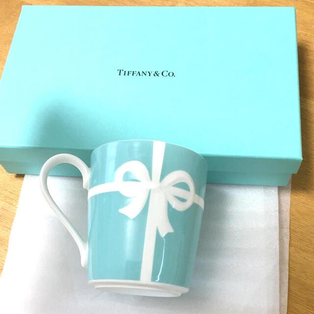 Tiffany & Co.(ティファニー)の Tiffany & Co. ティファニー   マグカップ ブルーリボン  インテリア/住まい/日用品のキッチン/食器(グラス/カップ)の商品写真
