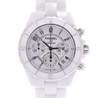 CHANEL - シャネル  J12 41mm クロノ ベゼル新品 腕時計