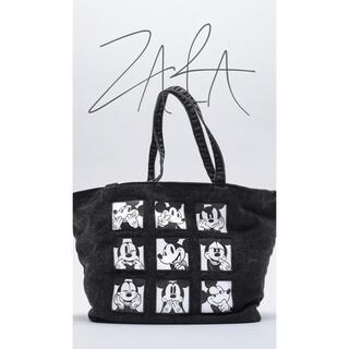 ZARA - sunday special‼︎ZARA ミッキー  トート バッグ 新品