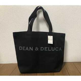 【DEAN&DELUCA】トートバック★ディーン&デルーカ★ブラックM(トートバッグ)