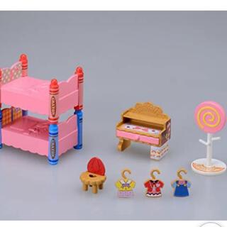 タカラトミー(Takara Tomy)のこえだちゃん 二段ベッドのあるお部屋セット(キャラクターグッズ)