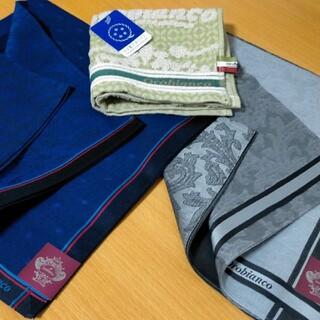 オロビアンコ(Orobianco)のオロビアンコ ハンカチ 3枚セット 新品(ハンカチ/ポケットチーフ)