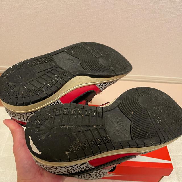 Supreme(シュプリーム)のNIKE Supreme dunk low SB 3rd red cement メンズの靴/シューズ(スニーカー)の商品写真