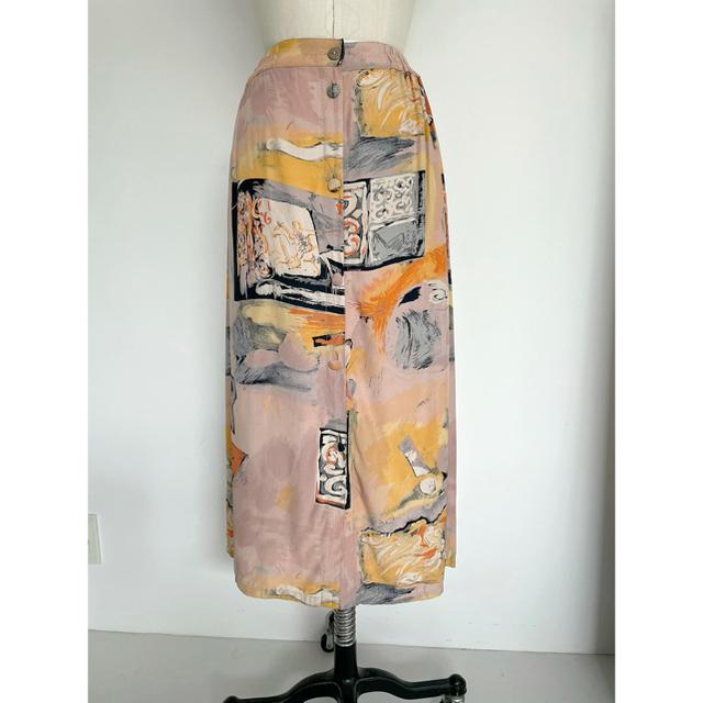 vintageスカート レディースのスカート(ロングスカート)の商品写真
