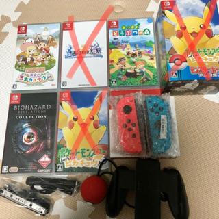 ニンテンドースイッチ(Nintendo Switch)のSwitch ソフト Joy-Conまとめ売り(家庭用ゲーム機本体)