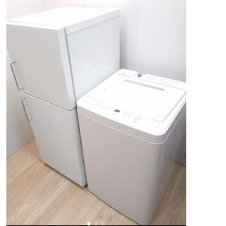 ムジルシリョウヒン(MUJI (無印良品))の無印良品 冷蔵庫 洗濯機 レトロデザイン バータイプ ホワイトデザイン(冷蔵庫)