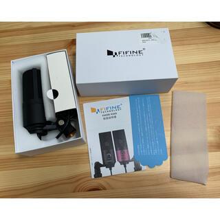 FIFINE USBコンデンサーマイク K669B 美品(マイク)