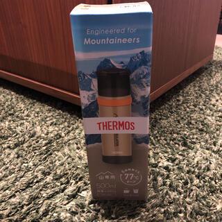 サーモス(THERMOS)の新品未開封 THERMOS 山専用ステンレスボトル(登山用品)