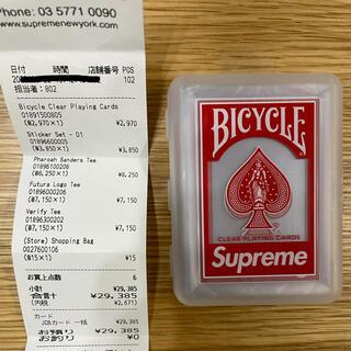 シュプリーム(Supreme)のsupreme 20fw トランプ 新品未使用(その他)