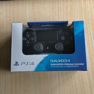 プレイステーション4(PlayStation4)のPS4 DUALSHOCK 4ワイヤレスコントローラージェットブラック2個セット(その他)