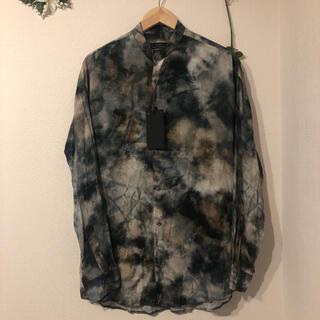 ザラ(ZARA)の新品 ZARA 総柄バンドカラーシャツ(シャツ)