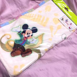 ディズニー(Disney)の新品❗️ディズニーランド フェイスタオル 新エリア 記念グッズ(タオル/バス用品)