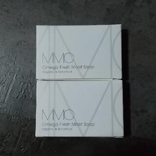 エムアイエムシー(MiMC)のMiMC オメガフレッシュモイストソープ ミニサイズ フレッシュローズウッド(洗顔料)