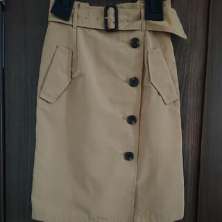 ジャスグリッティー(JUSGLITTY)のJUSGLITTY トレンチスカート(ひざ丈スカート)