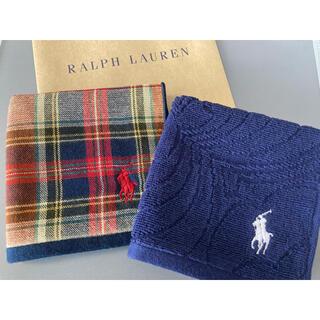 Ralph Lauren - 新品 ラルフローレン ハンカチ タオル ハンドタオル 2枚 ラルフ プレゼント