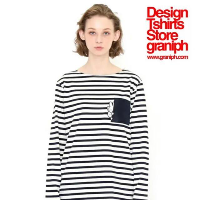 Design Tshirts Store graniph(グラニフ)のグラニフ ミッフィー  キッズ/ベビー/マタニティのキッズ服女の子用(90cm~)(Tシャツ/カットソー)の商品写真