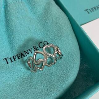 Tiffany & Co. - Tiffany  センチメンタル ハート リング