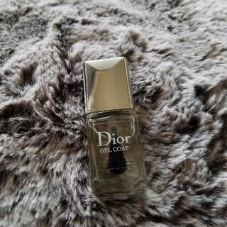 ディオール(Dior)のDior ジェルトップコート7ml(ネイルトップコート/ベースコート)