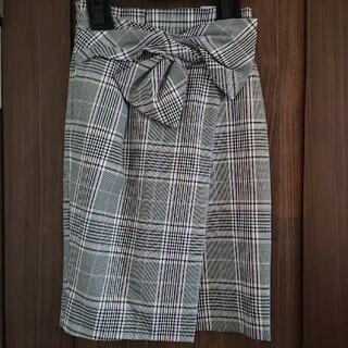 ジャスグリッティー(JUSGLITTY)のJUSGLITTY チェックタイトスカート(ひざ丈スカート)
