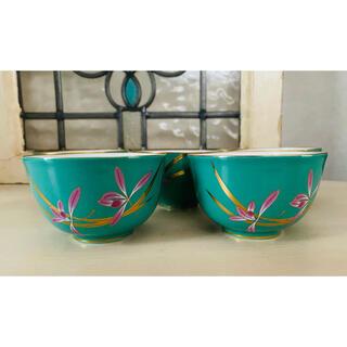 香蘭社 来客用湯呑茶碗 5客セット
