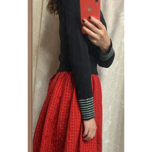 Lily Brown(リリーブラウン)の2set リリーブラウン  ニット ココデイール スカート  レディースのレディース その他(セット/コーデ)の商品写真
