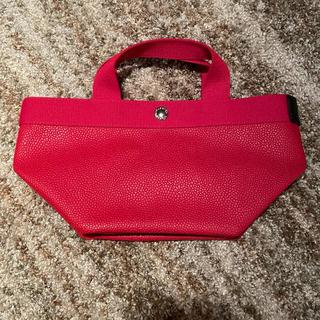 Herve Chapelier - 【美品】エルベシャプリエ 701gp パプリカ 赤 レッド トートバッグ