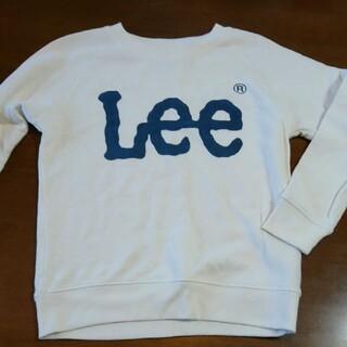 リー(Lee)のLeeホワイトトレーナー(Tシャツ/カットソー)