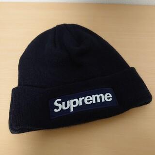 シュプリーム(Supreme)の【新品未使用品】Supreme New Era box logo Beanie (ニット帽/ビーニー)