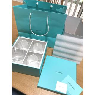 Tiffany & Co. - 新品 ティファニー TIFFANY&Co グラス セット 4点セット 200ml