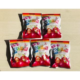 ユーハミカクトウ(UHA味覚糖)のさくらんぼの詩 5個セット(菓子/デザート)