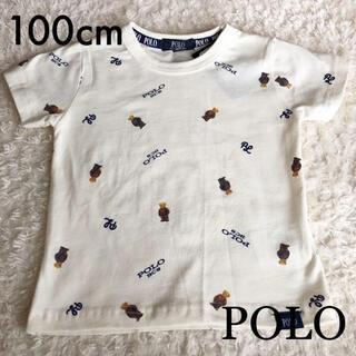 futafuta - POLO ポロベア 総柄 Tシャツ 100cm