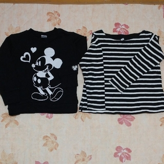 Disney - ディズニーミニートレーナー&ユニクロ ボーダートレーナー