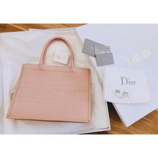 Dior - ディオール レザー ブックトート スモール DIOR BOOK TOTE