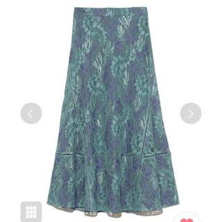 FRAY I.D - フレイアイディー レースナロースカート