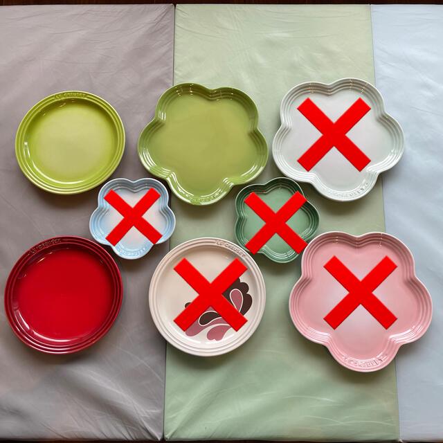 LE CREUSET(ルクルーゼ)のルクルーゼ まとめて インテリア/住まい/日用品のキッチン/食器(食器)の商品写真