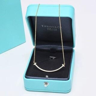 Tiffany & Co. - ティファニー Tスマイルネックレス