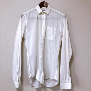 ザラ(ZARA)のZARA 白シャツ メンズ サイズS(シャツ)