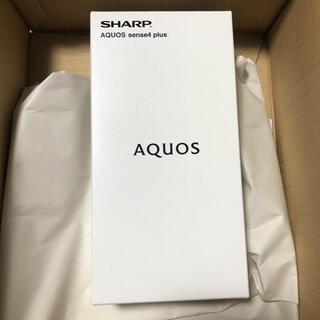 AQUOS - AQUOS sense 4 plus ホワイト