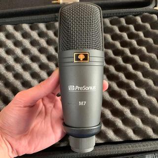 オーディオテクニカ(audio-technica)のPreSonus コンデンサーマイク M7 (XLRケーブル付き)(マイク)