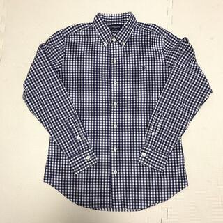 ジムフレックス(GYMPHLEX)の美品!ギンガムチェックボタンダウンシャツ(シャツ)