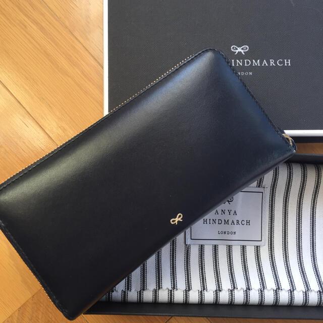 ANYA HINDMARCH(アニヤハインドマーチ)のAnya Hindmarch アニヤ ハインドマーチ 長財布 レディースのファッション小物(財布)の商品写真