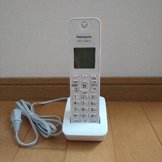 Panasonicパナソニックコードレス電話機 子機のみ VE-GZ21DL-W(その他)