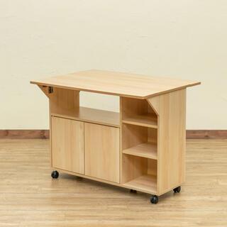 バタフライカウンターテーブル 90幅 ナチュラル(バーテーブル/カウンターテーブル)
