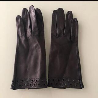 新品 黒 レザー手袋