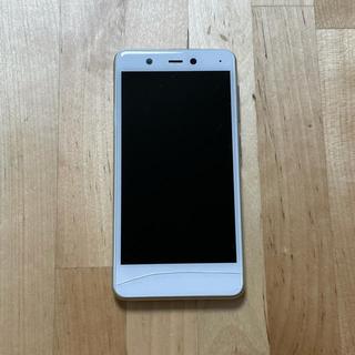 ラクテン(Rakuten)の楽天mini ホワイト 本体と付属品(スマートフォン本体)